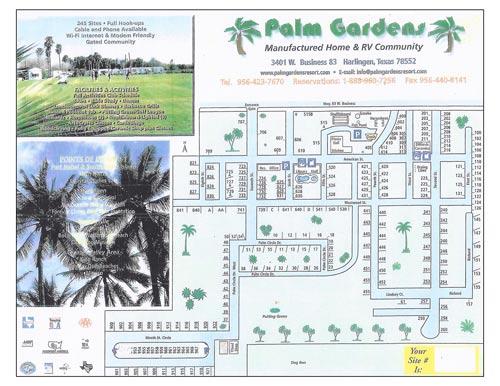 Park Map Palm Gardens
