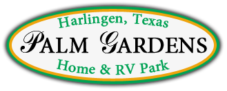 Palm Gardens Mobile Home and RV Park Logo